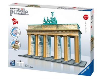 Brandenburská brána 3D puzzle (Ravensburger 12551)
