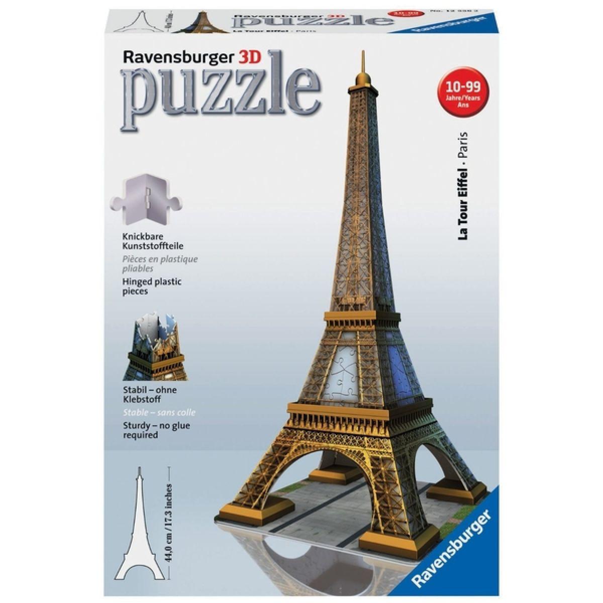 Ravensburger Puzzle 3D Eiffelova věž 216 dílků
