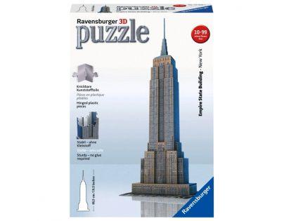 Ravensburger 12553 - Puzzle 3D Empire State Building 216 dílků