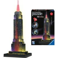 Ravensburger 3D puzzle svietiace Empire State Building 216 dielikov