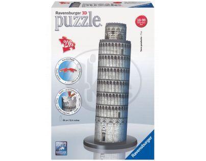 Ravensburger 12557 - Šikmá věž v Pise 3D - 216 dílků