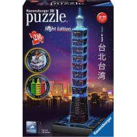 Ravensburger 3D puzzle Taipei Noční edice 216 dílků