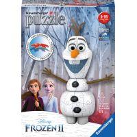 Ravensburger 3d puzzle Disney Ledové království II Olaf 3D Puzzle 54 dílků