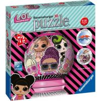 Ravensburger 3d puzzle Puzzleball L.O.L 72 dílků 2