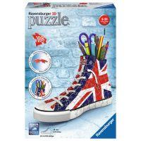 Ravensburger 3D Puzzle 112227 Kecka Union Jack 108 dílků