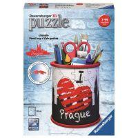 Ravensburger 3D Puzzle 112258 Stojan na tužky I love Prague 54 dílků