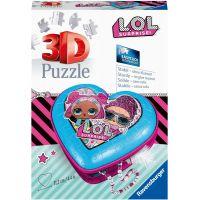 Ravensburger 3D puzzle Srdce L.O.L. 54 dílků