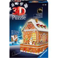 Ravensburger 3D puzzle Perníková chaloupka 216 dílků