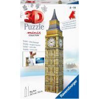 Ravensburger 3D Puzzle Mini budova Big Ben položka 54 dielikov