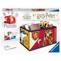 Ravensburger 3D Puzzle Úložná škatuľa s viečkom Harry Potter 216 dielikov
