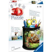 Ravensburger 3D Puzzle Stojan na ceruzky Divoká príroda 54 dielikov