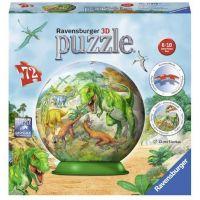 Ravensburger 3D Puzzle 118380 Říše dinosaurů 72 dílků