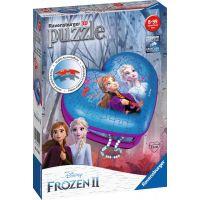 Ravensburger 3d puzzle Srdce Disney Ledové království II 54 dílků