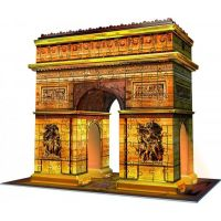 Ravensburger 3D Puzzle Vítězný oblouk Noční edice 216 dílků