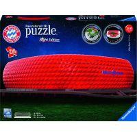 Ravensburger 3D puzzle Allianz Arena Noční edice 216 dílků