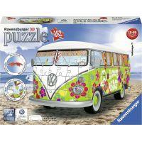 Ravensburger 3D puzzle VW Autobus T1 Hippie 162 dílků