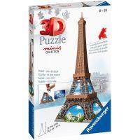 Ravensburger 3D Puzzle 125364 Mini budova Eiffelova veža položka 54 dielikov