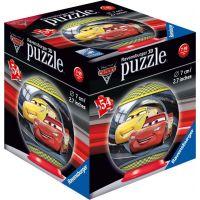 Ravensburger 3D puzzle Disney Auta 3 puzzleball 54 dílků Blesk McQueen a Cruz Ramirezová