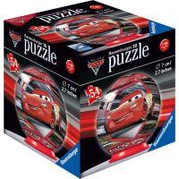 Ravensburger 3D puzzle Disney Auta 3 puzzleball 54 dílků Blesk McQeen