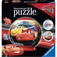 Ravensburger 3D puzzle Disney Auta 3 puzzleball 72 dílků