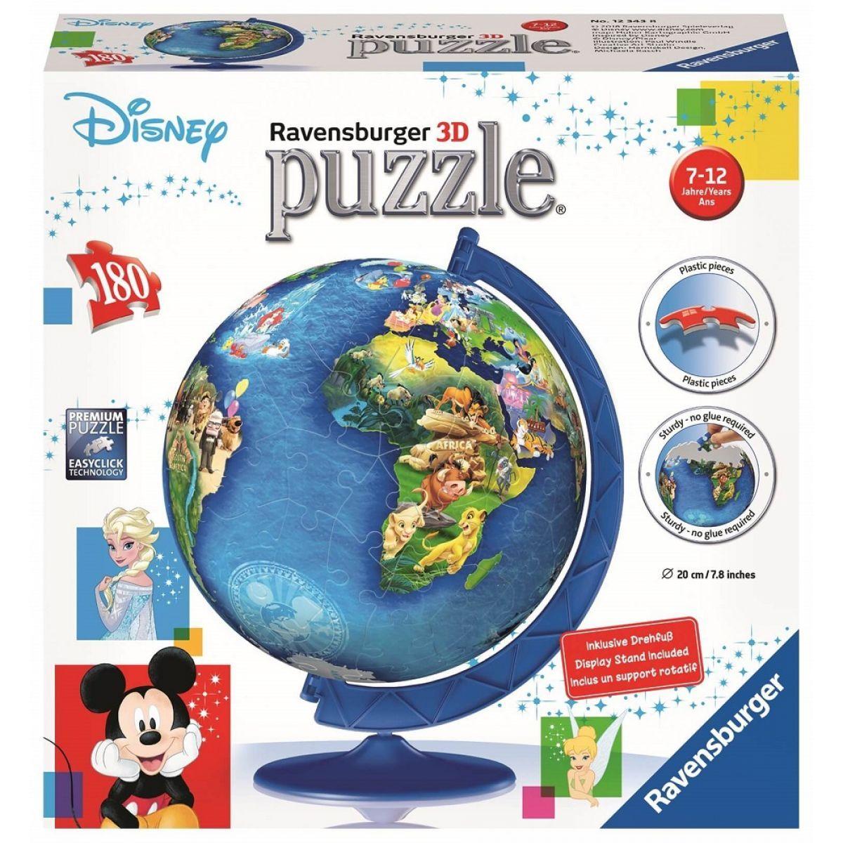Ravensburger 3D Puzzle Disney Globus 180 dílků