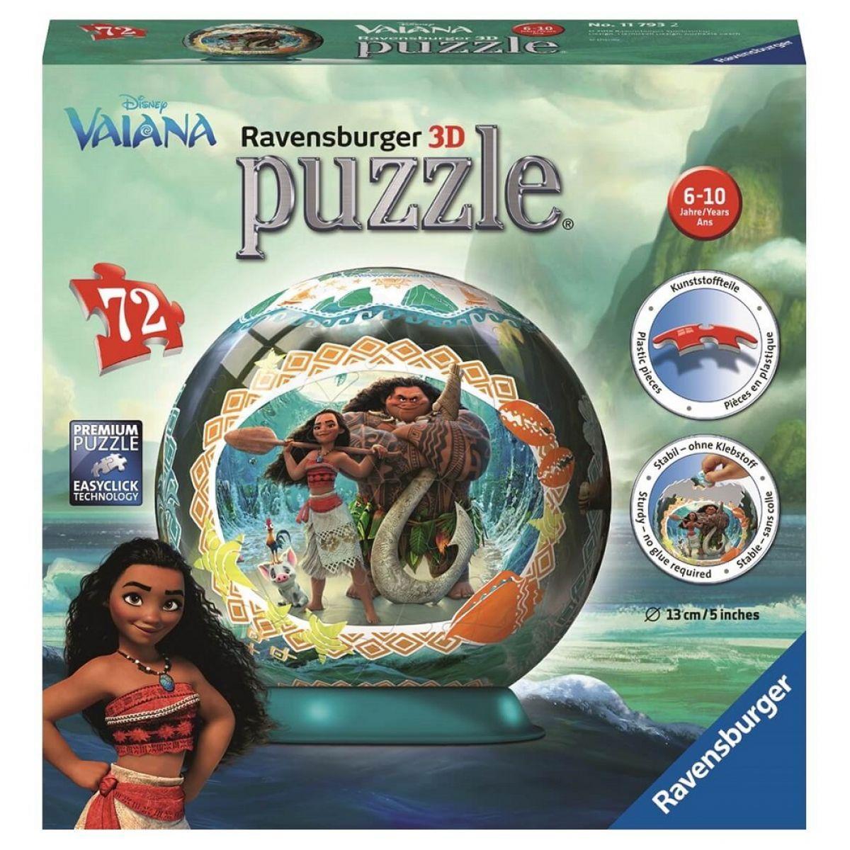 Ravensburger 3D Puzzle Disney Vaiana 72 dílků