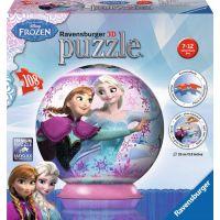 Ravensburger 3D puzzle Ledové království Puzzleball 108 dílků