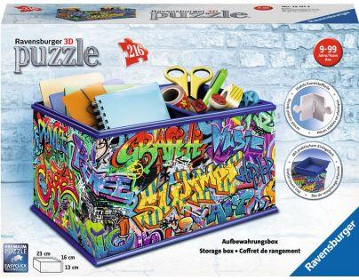 Ravensburger 3D puzzle Úložná krabice Graffiti 216 dílků