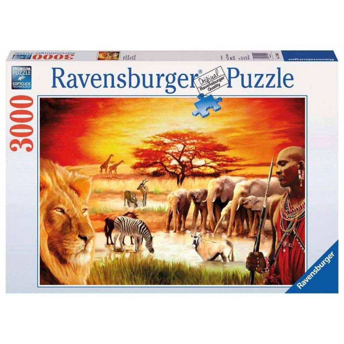 Puzzle Afrika 3000d Ravensburger