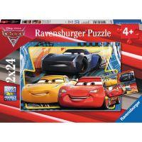 Ravensburger Auta Puzzle 2 x 24 dílků