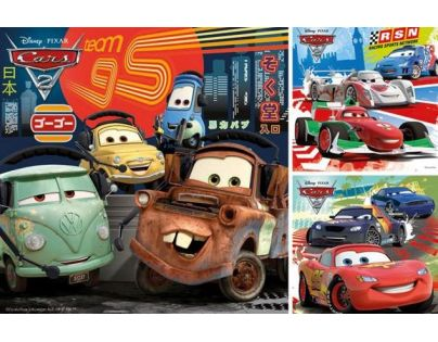 Ravensburger 09281 - Cars 2 3x49 dílků