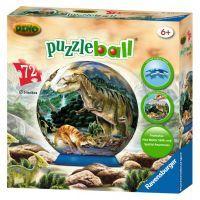Ravensburger Dinosauři Puzzleball 72 dílků