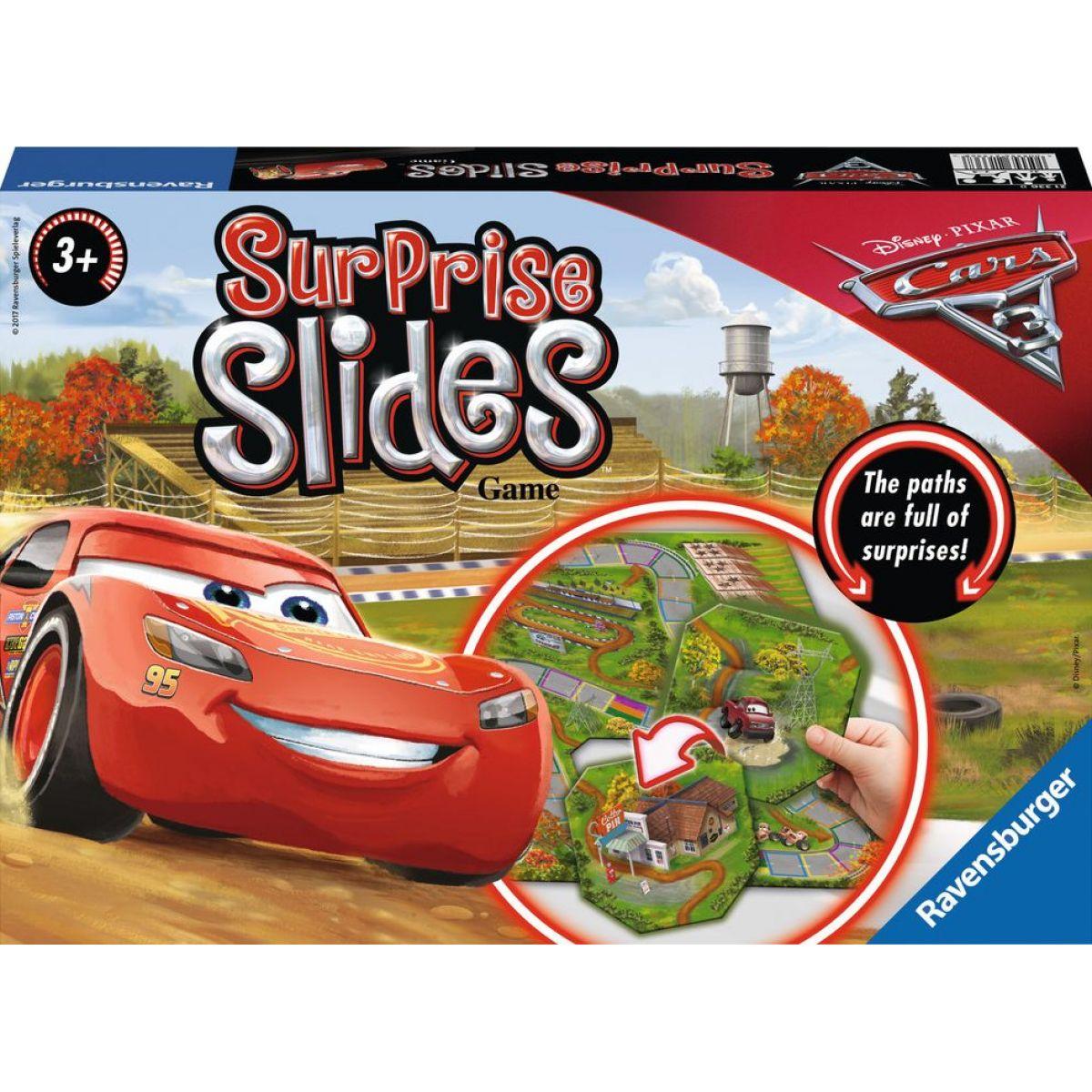 Ravensburger Disney Auta 3 Surprise Slides