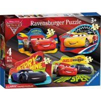 Ravensburger Disney Auta 4 v 1 tvary puzzle