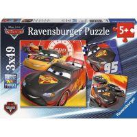 Ravensburger Disney Auta Dobrodružství na silnici puzzle 49 dílků