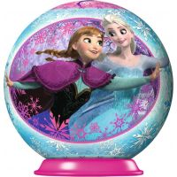 Ravensburger Disney Ledové království puzzleball 54 dílků 02 Anna a Elsa pohled na sebe