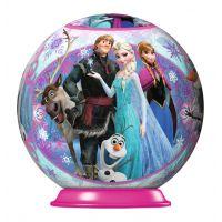 Ravensburger Disney Ledové království puzzleball 54 dílků 04 Frozen, Anna, sněhulák, sob