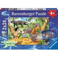 Ravensburger Disney Mauglí a jeho přátelé puzzle 2 x 24 dílků