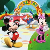 Ravensburger Disney Mickey v Parku puzzle 25 ,36, 49 dielikov 2