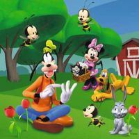 Ravensburger Disney Mickey v Parku puzzle 25 ,36, 49 dielikov 4