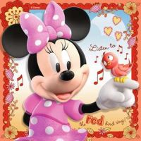 Ravensburger Disney Minnie Mouse 3 in a Box puzzle 25, 36, 49 dielikov 3