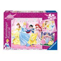 Ravensburger Disney Princezny 3 x 49 dílků