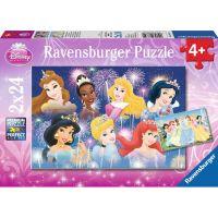 Ravensburger Disney Princezny puzzle 2 x 24 dílků