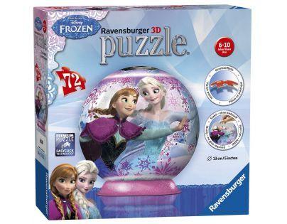 Ravensburger Disney Puzzle 3D Ledové království puzzleball 72 dílků