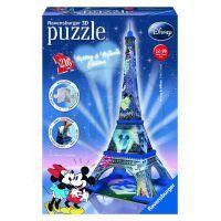 Ravensburger Disney 3D Mickey a Minnie Eiffelova věž 216 dílků