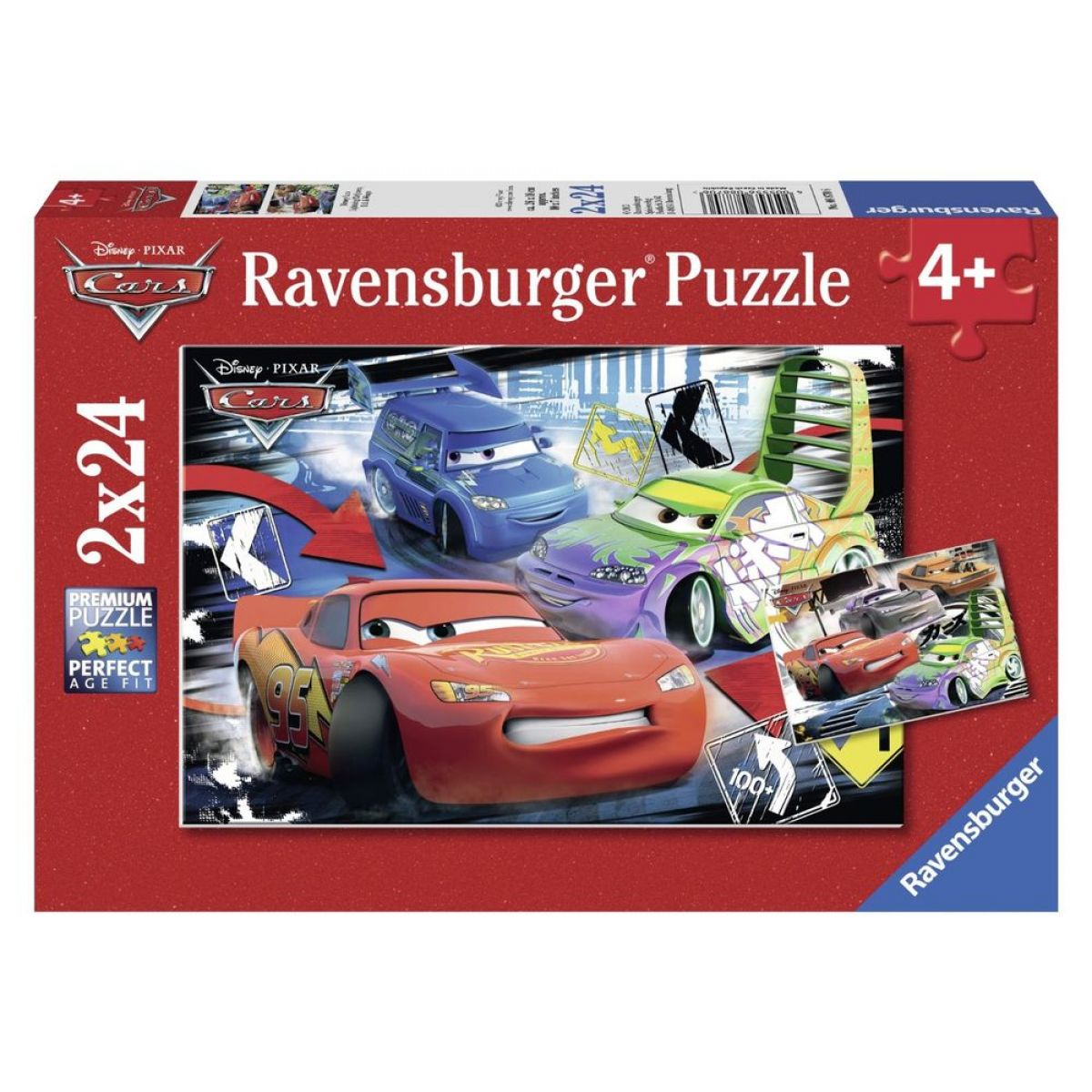 Ravensburger Cars McQueen 2 x 24 dílků