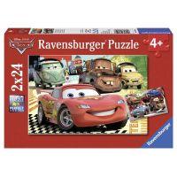 Ravensburger Cars Nová dobrodružství 2 x 24 dílků