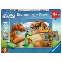 Ravensburger Disney Puzzle Hodný Dinosaurus 2 x 24 dílků