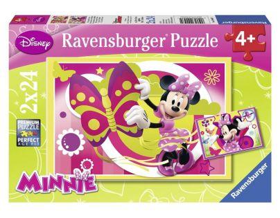 Ravensburger Disney Jeden den s Minnie 2 x 24 dílků