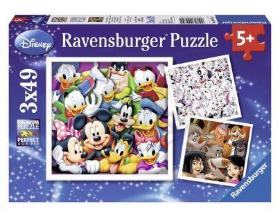 Ravensburger Disney Klasika 3 x 49 dílků